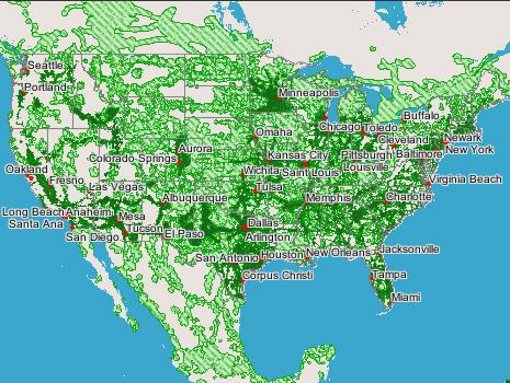 Cmjpg - Tmobile coverage map us 2017